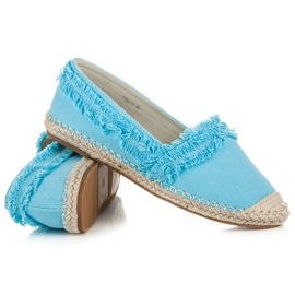 Vices Blue Espadrilles With Tassels 4