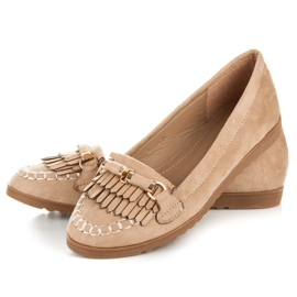 Seastar Loafers with tassels brown 2