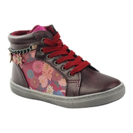 American Club ADI sport shoes bootees American 10108 pink multicolored 1