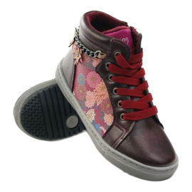 American Club ADI sport shoes bootees American 10108 pink multicolored 3