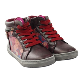American Club ADI sport shoes bootees American 10108 pink multicolored 4