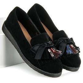 Seastar Suede loafers black 2