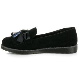Seastar Suede loafers black 1