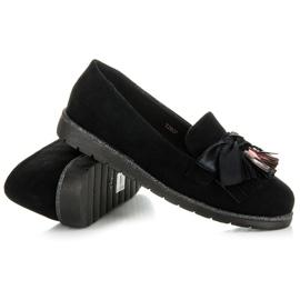 Seastar Suede loafers black 3
