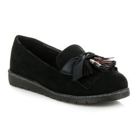 Seastar Suede loafers black 4