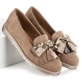 Seastar Suede loafers brown 1