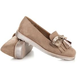 Seastar Suede loafers brown 4