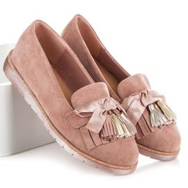 Seastar Suede loafers pink 1