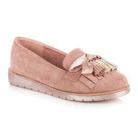 Seastar Suede loafers pink 2
