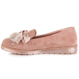 Seastar Suede loafers pink 3
