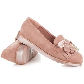 Seastar Suede loafers pink 4