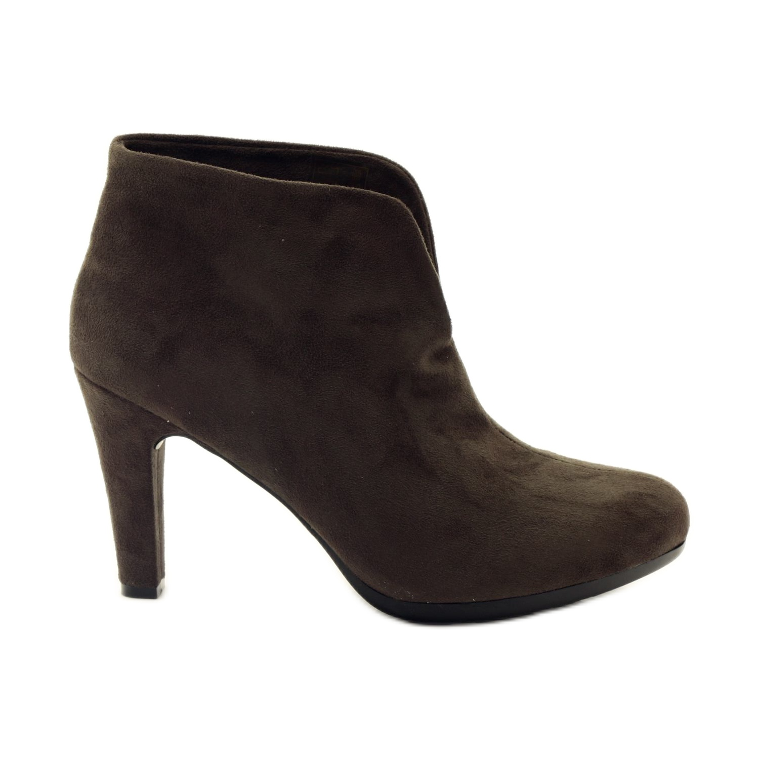 Brown women's shoes Hengst 214702