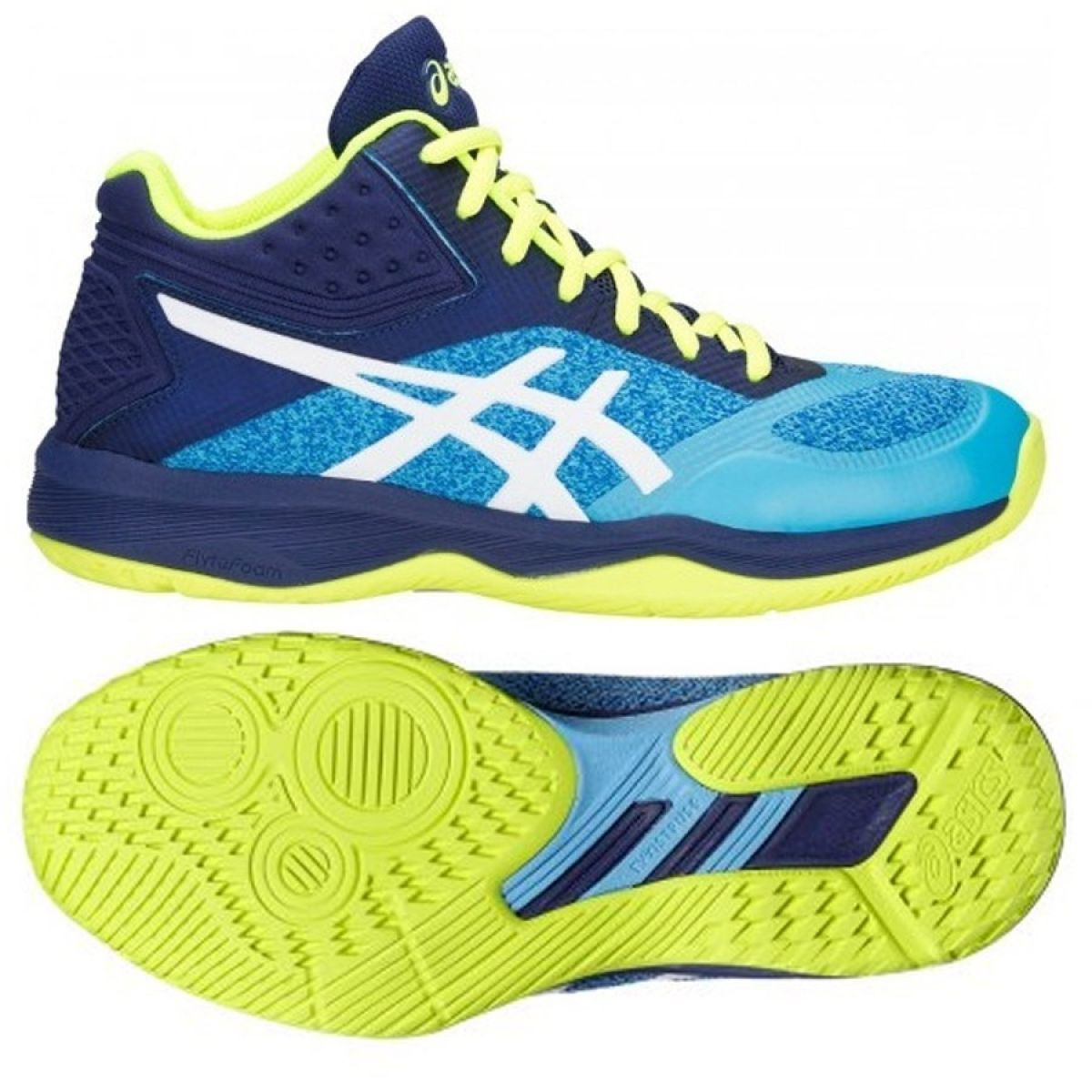 Details about Volleyball shoes Asics Netburber Ballistic M 1052A001 400