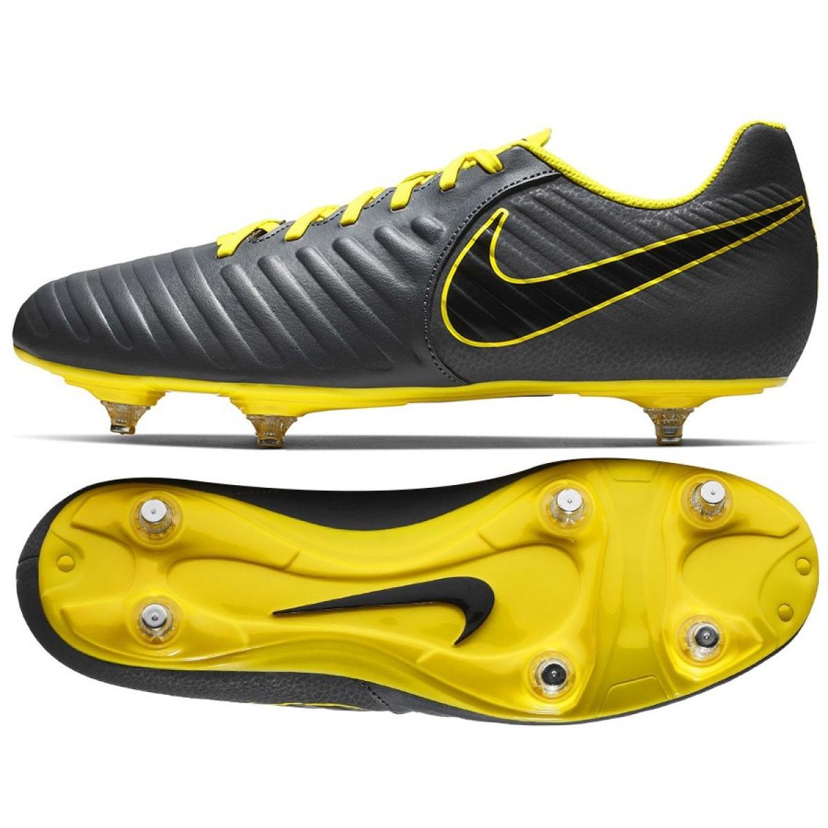 come serch forma elegante adatto a uomini/donne Football shoes Nike Tiempo Legend 7 Club Sg M AH8800-070 grey gray ...