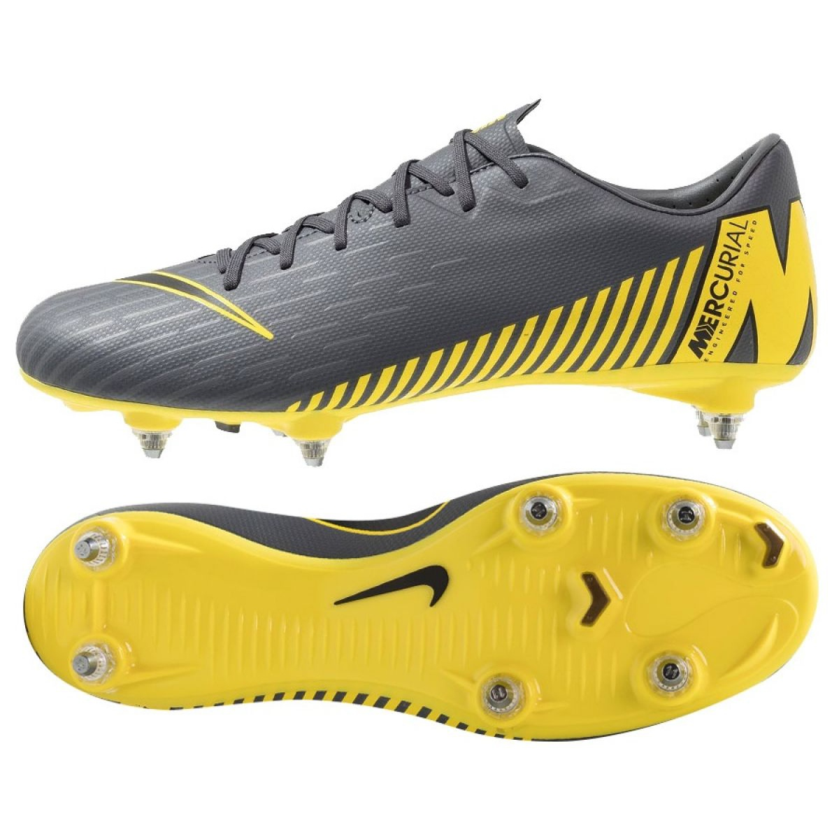 Details about Nike Mercurial Vapor 12 Academy Sg Pro M AH7376 070 Football Shoes black black