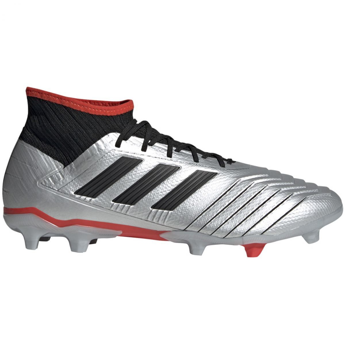 Details about Football boots adidas Predator 19.2 Fg M F35601 gray silver grey