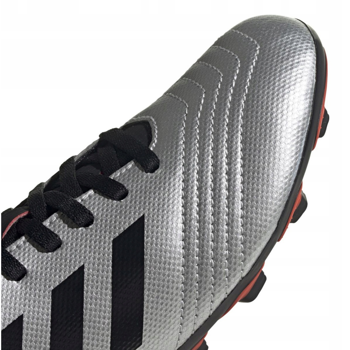 Details about Football boots adidas Predator 19.4 FxG Jr G25822 silver gray silver