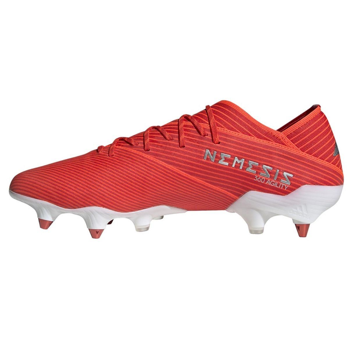 1 Sg M red about Football Details F99855 red boots Nemeziz 19 adidas xBdCtsrhQ