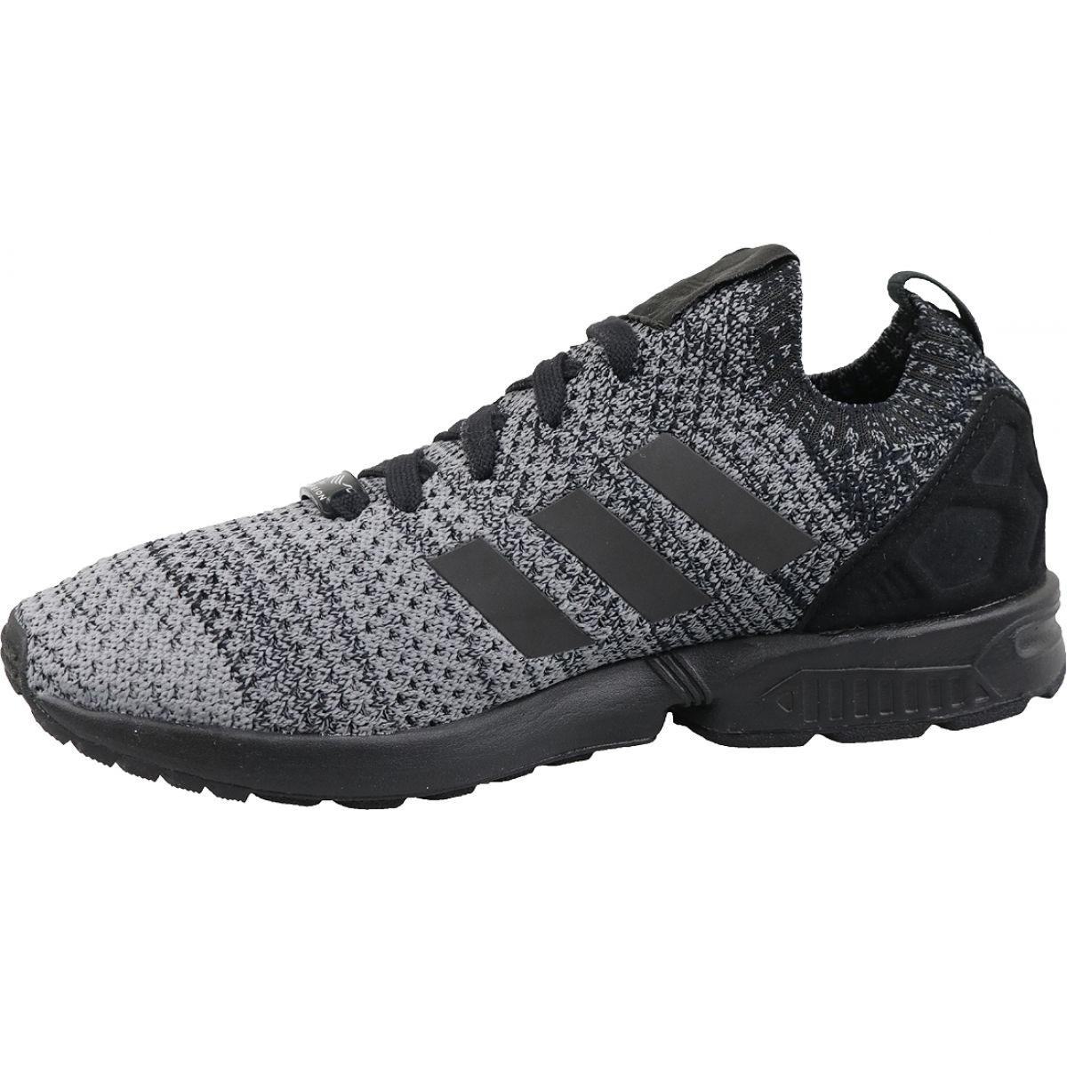 Black Adidas Originals Zx Flux Primeknit M BZ0562 shoes