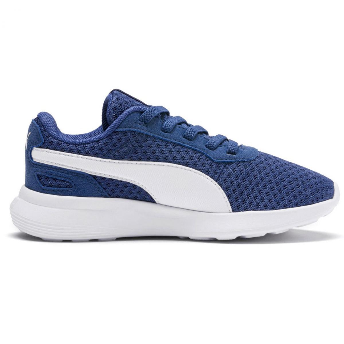Detalles de Zapatos Puma St activar Ac Ps Jr 369070 08 Azul ver título original