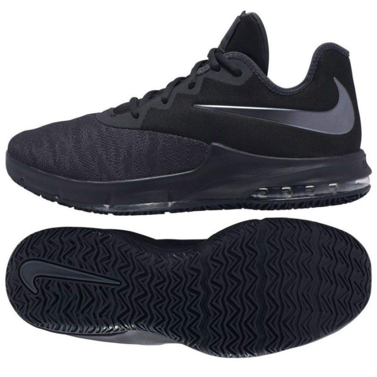 Details about Nike Air Max Infuriate Iii Low WM AJ5898 007 shoes black