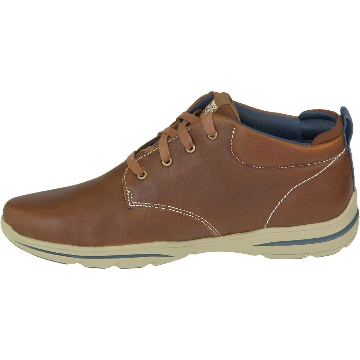 Limitado Agnes Gray Montaña  Skechers Harper Melden M 64857-LUG shoes brown | eBay