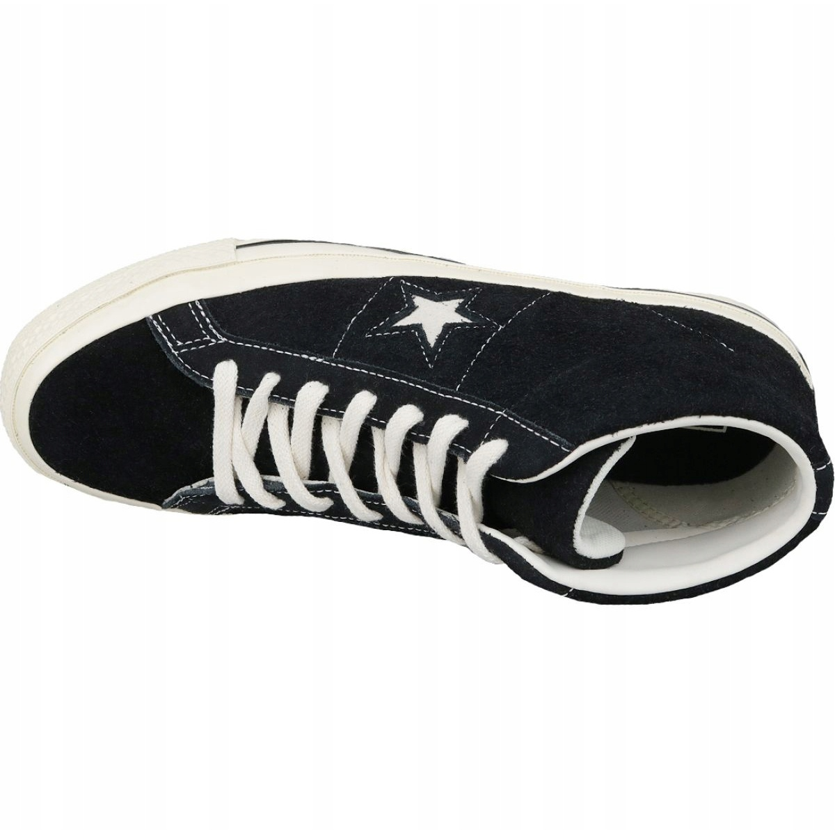 Details about Converse One Star Ox Mid Vintage Suede M 157701C shoes black