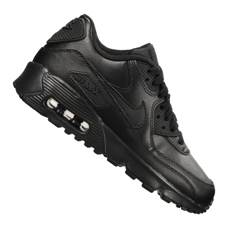 Details about Nike Air Max 90 Ltr Gs Jr 833412 001 shoes black