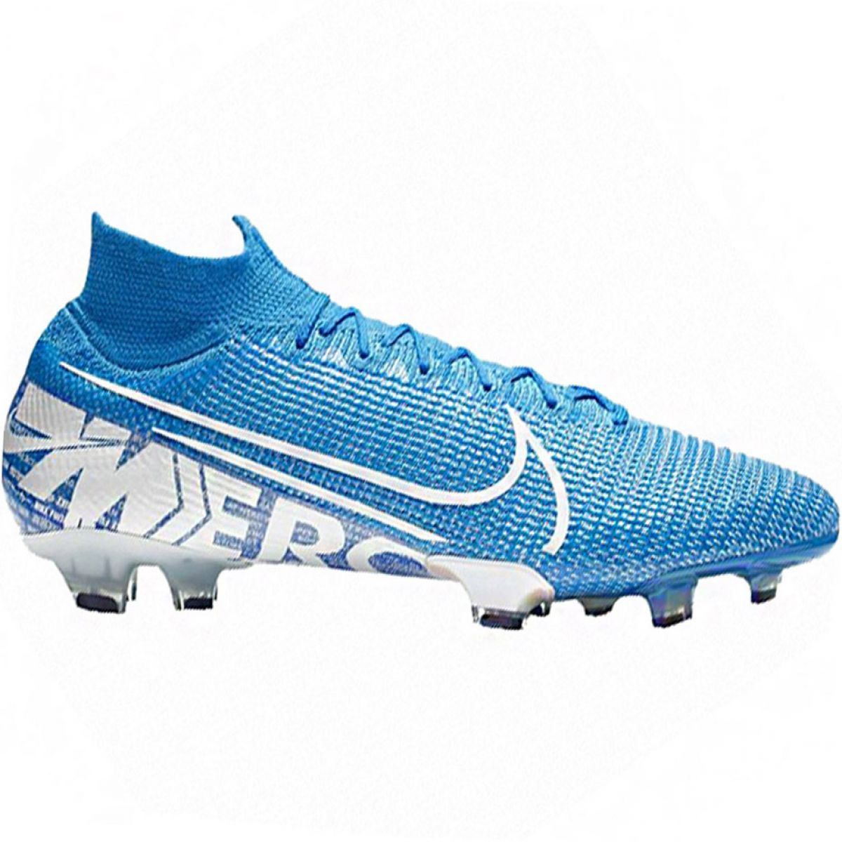 Details about Nike Mercurial Superfly 7 Elite Fg M AQ4174 414 football shoes blue blue