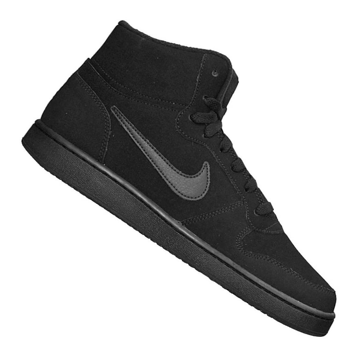 Details zu Nike Ebernon Mid Se M AQ8125 003 Schuhe schwarz