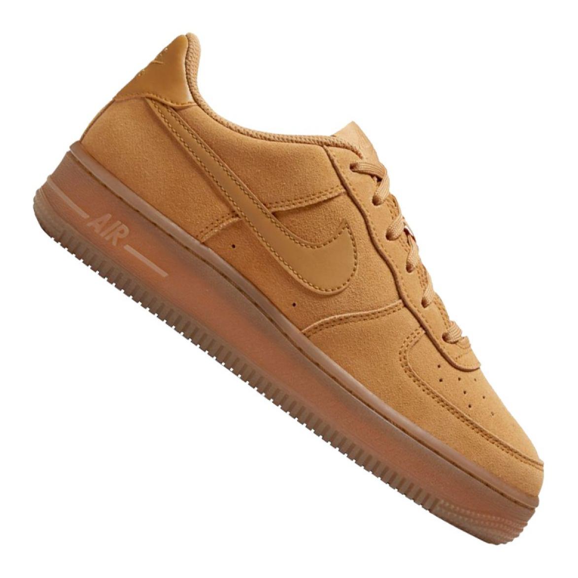 scarpe nike air force 1 marroni