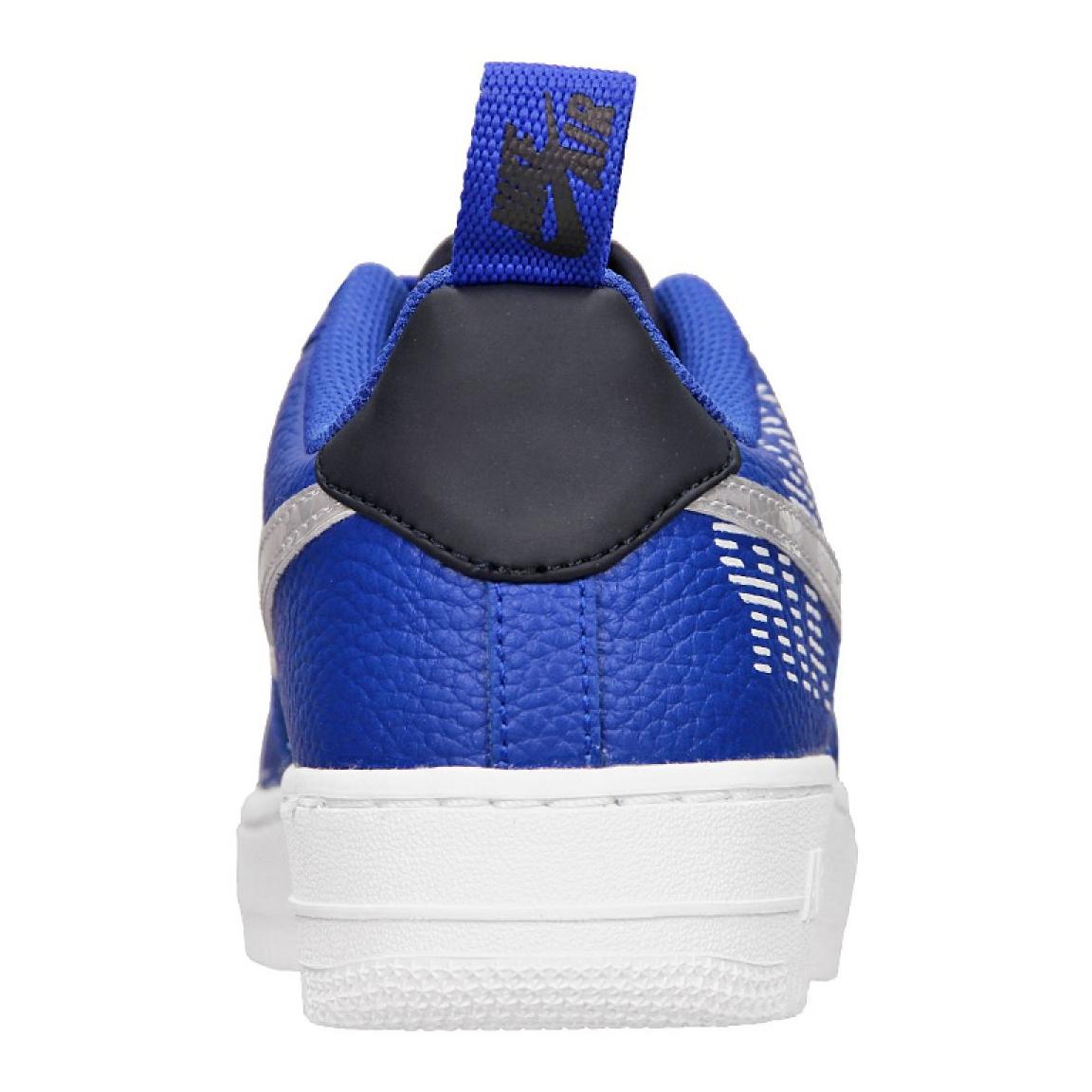 Details about Nike Air Force 1 LV8 2 (GS) Jr BQ5484 400 shoes blue