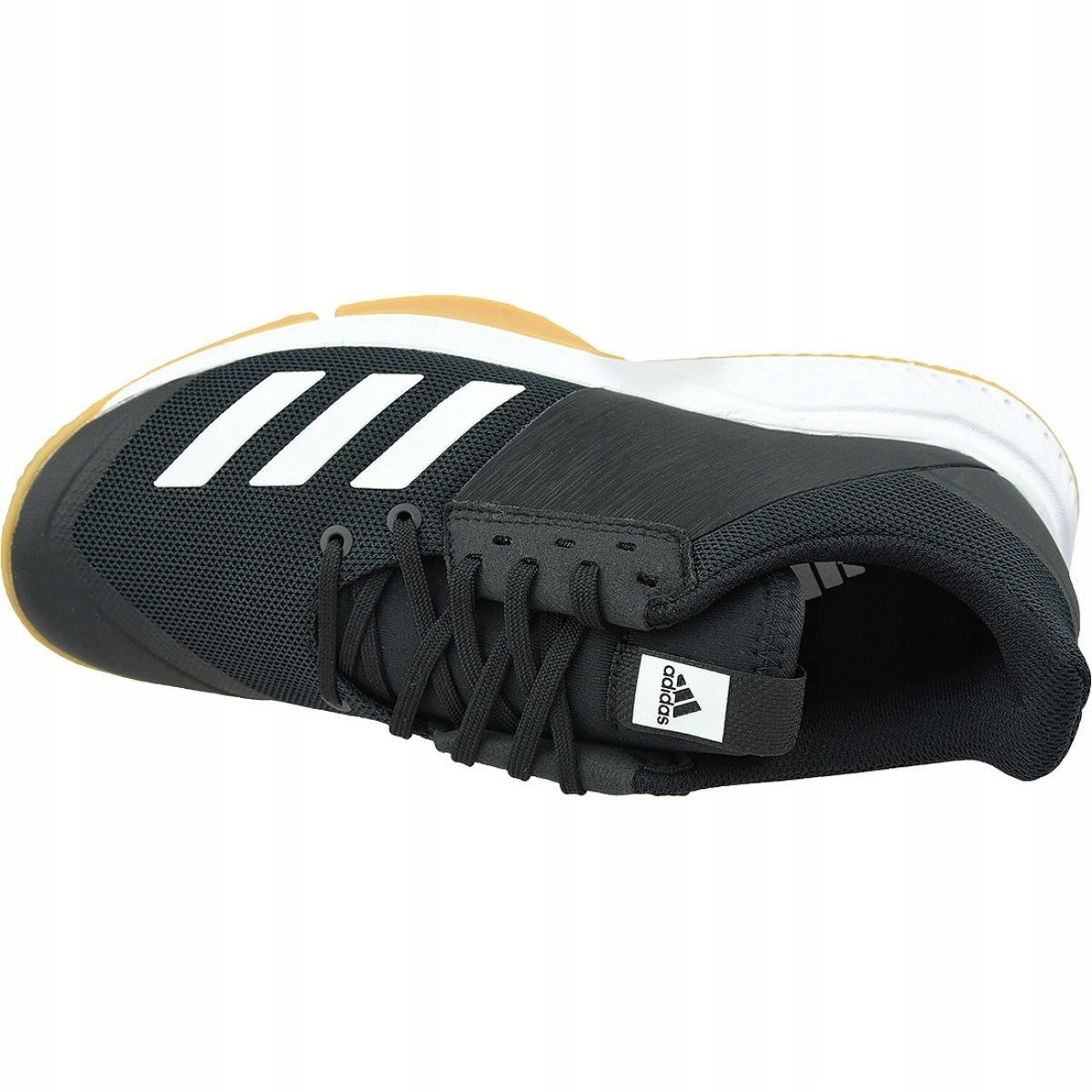 Cuadrante inferencia Noble  Adidas Crazyflight Team M D97701 volleyball shoes black black | eBay