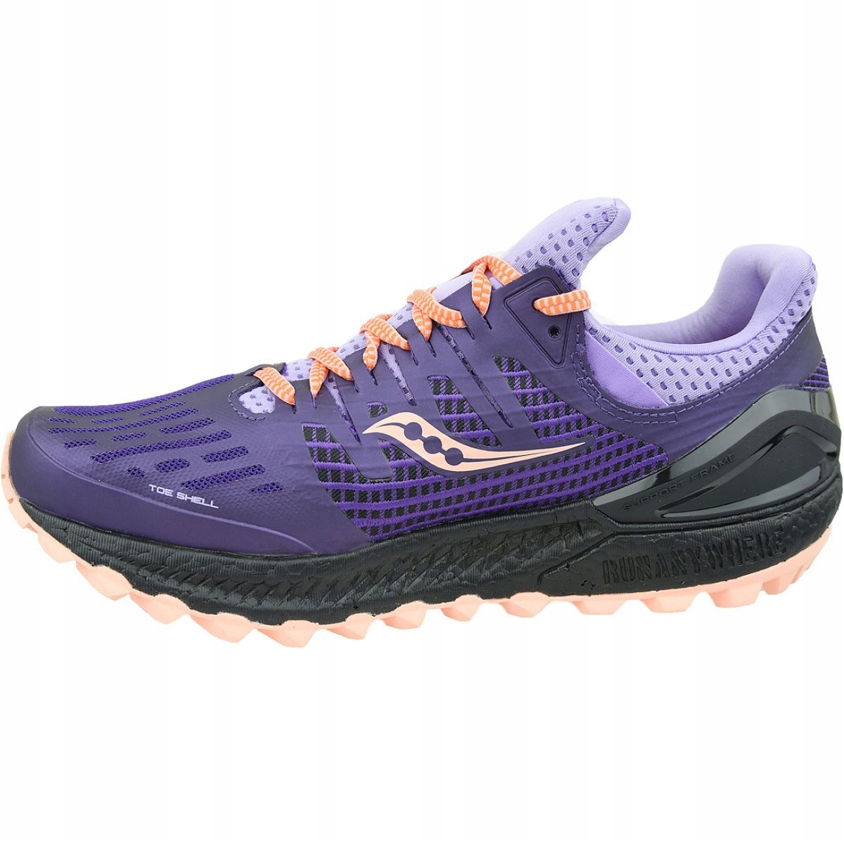 Saucony Saucony Triumph Iso 3 Running Shoe 8M Purple