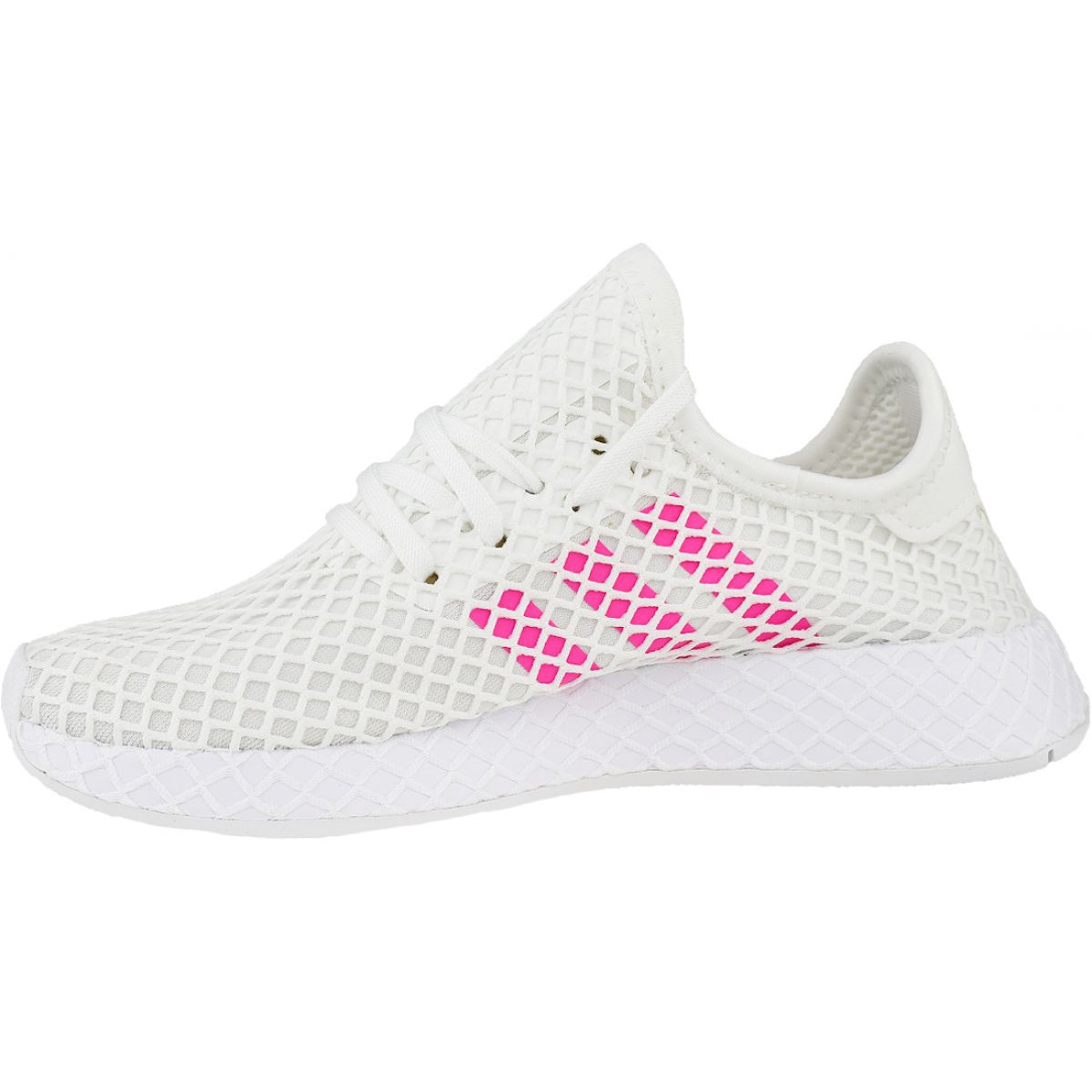 Details about Adidas Deerupt Runner W EE6608 shoes white